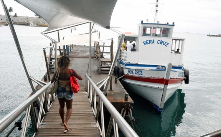 Sistema pode parar a qualquer momento, caso as condições de navegações mudem - Foto: Luciano da Matta | Ag. A TARDE