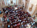 Fiéis na festa da padroeira na Igreja Matriz - Foto: