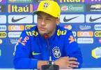 Neymar se irrita com pergunta e diz: 'Tem que me cobrar em campo' - Foto: Reprodução l YouTube