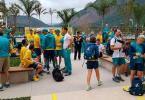 Início de incêndio faz australianos deixarem prédio na Vila Olímpica - Foto: AUS Olympic Team/Twitter