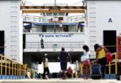 Retorno para Salvador pelo ferry e pelas estradas já é intenso | Foto: