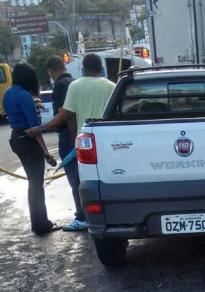 Vítima e assaltante morrem em roubo na Cidade Baixa - Foto: Edilson Lima | Ag. A TARDE