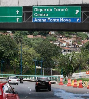 Trânsito sofrerá alteração em dias de jogos de futebol - Foto: Mila Cordeiro l Ag. A TARDE l 3.6.2013