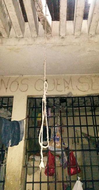 O local, construído para abrigar 16 pessoas, estava com 41 presos - Foto: Divulgação l Policia Civil