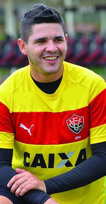 Diego Renan afirma viver no Vitória a melhor fase da carreira - Foto: Francisco Galvão l EC Vitória