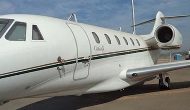 A aeronave Cessna Citation X, com oferta mínima de R$ 9 milhões, é um de centenas de itens - Foto: Divulgação | Receita Federal