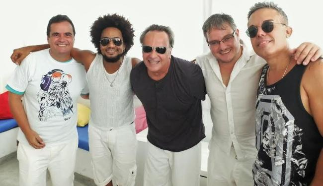 Ricardo Chaves, Magary, Jonga, Manno e Ramon Cruz comandam o Alavontê - Foto: Genilson Coutinho