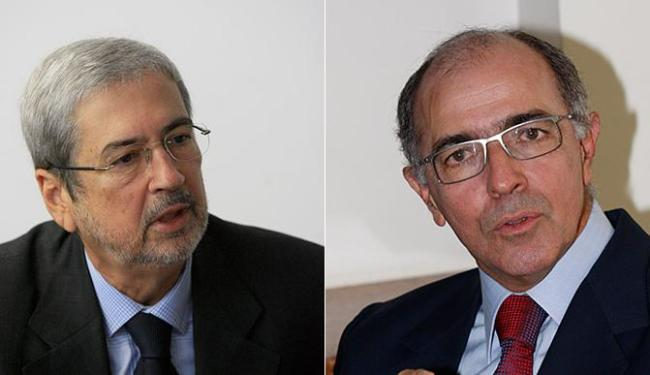 Antônio Imbassahy, líder do PSDB na Casa; José Carlos Aleluia, do DEM - Foto: Luciano da Matta e Margarida Neide | Ag. A TARDE