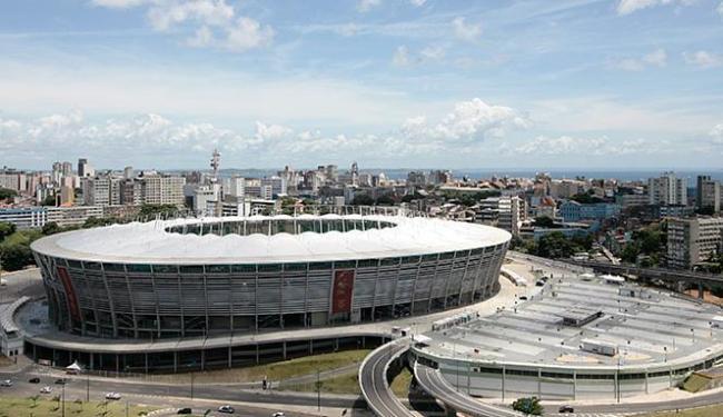 Arena Fonte Nova vai sediar dez jogos de futebol nas Olimpíadas - Foto: Mila Cordeiro l Ag. A TARDE l 11.3.2014