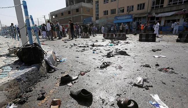 De acordo com autoridades, radicais do Estado Islâmico reivindicam a autoria do atentado - Foto: Omar Sobhani l Reuters