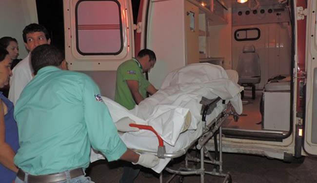 O Policial foi atingido no braço e no toráx - Foto: Reprodução / Blogbraga