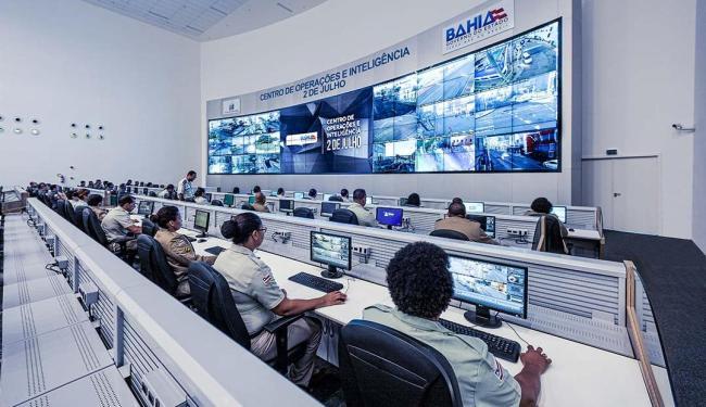 Imagens serão monitoradas em tela de 14 m x 7 m - Foto: Gov-BA | Divulgação
