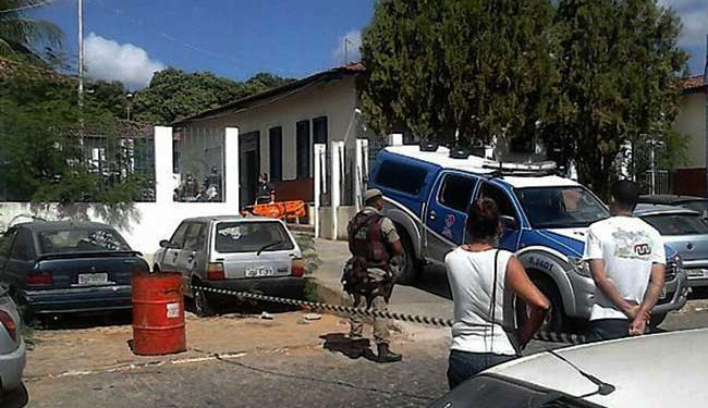 Ninguém conseguiu fugir da delegacia - Foto: Polícia Militar | Divulgação