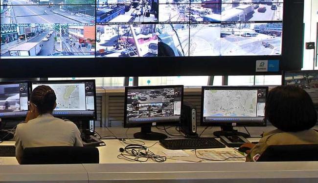 As imagens captadas pelas câmeras serão monitoradas 24 horas por dia - Foto: Carla Ornelas | GovBA