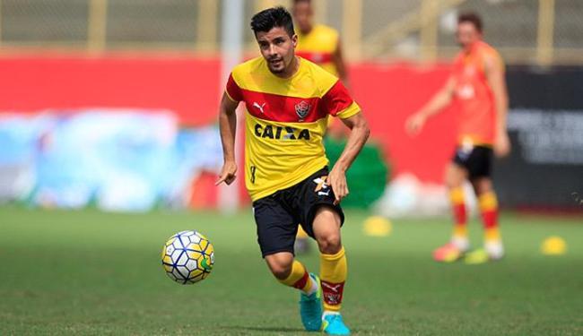 Cárdenas vem se destacando nos treinos na Toca do Leão - Foto: Raul Spinassé l Ag. A TARDE