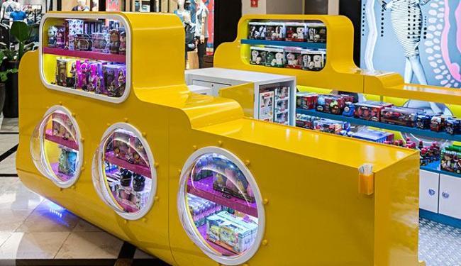 Quiosque de brinquedos Chuá Chuá foi lançado no mês passado - Foto: Divulgação | Ag. A TARDE