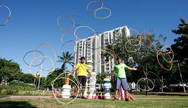 Peta e Alvinho integram o Eureka Ideias Brincantes - Foto: Mila Cordeiro l Ag. A TARDE