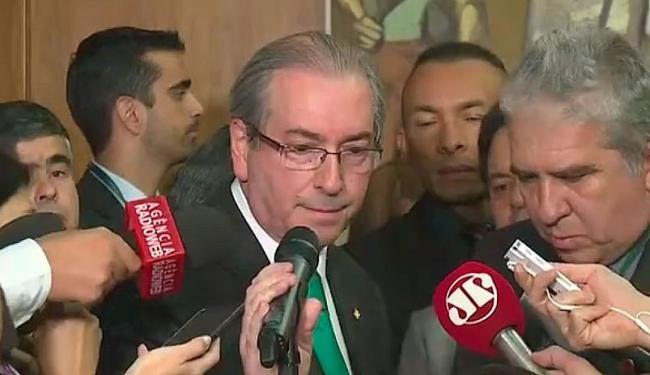 Com a decisão de Cunha de deixar a vaga, a Câmara terá que convocar novas eleições - Foto: Reprodução | TV