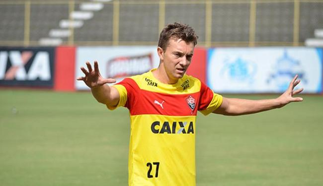 Apesar de ser ídolo, jogador cobra do clube na Justiça - Foto: Francisco Galvão l EC Vitória