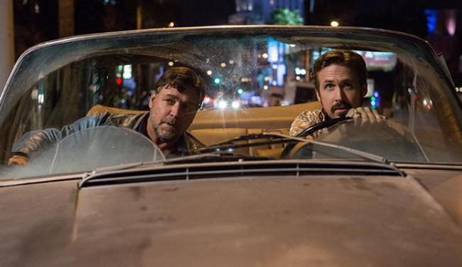 Crowe e Gosling vivem boa química na tela - Foto: Divulgação