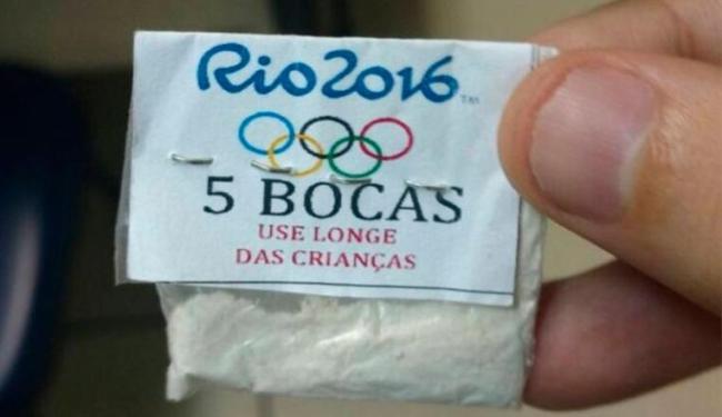 Droga era vendida em área turística do Rio - Foto: Polícia Civil Rio   Divulgação
