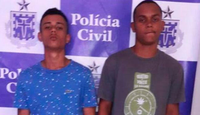 Dupla é presa em flagrante depois de assaltar coletivo - Foto: Divulgação | Polícia Civil