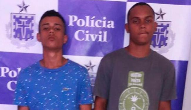 A dupla foi presa logo após - Foto: Divulgação | Policia Civil