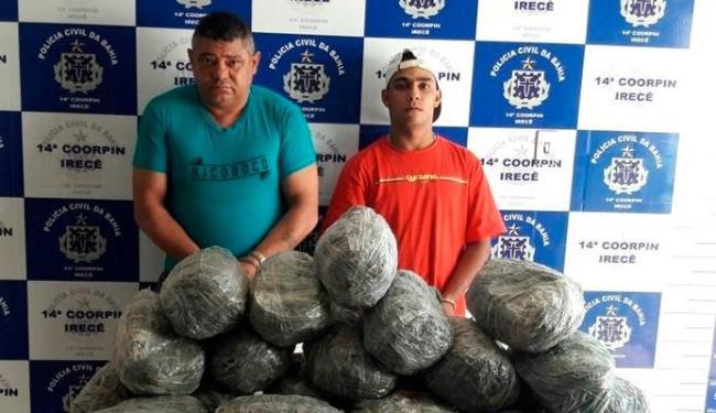 Rosivan e Cristian foram presos - Foto: Divulgação   Polícia Civil