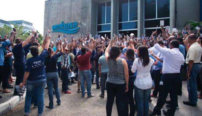 Paralisação foi aprovada em assembleia nesta quarta - Foto: Divulgação | Sindae