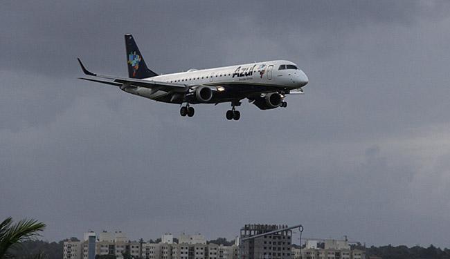 Empresa usará jatos da Embraer nas rotas de Porto Seguro e Ilhéus para Salvador - Foto: Joá Souza l Ag. A TARDE l 12.10.2013
