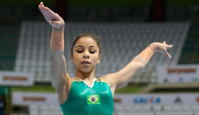 Flávia Saraiva é uma das esperanças de medalha na ginástica - Foto: Ricardo Bufolin | CBG