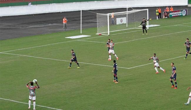 Touro Sertão deu um passo decisivo para a sua classificação à próxima fase da Série D - Foto: Cristiano Alves l Fluminense de Feira