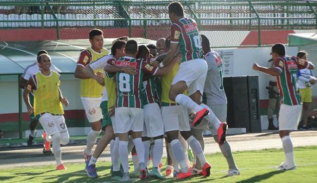 Partidas no novo Joia têm sido uma arma para o Fluminense - Foto: Fluminense de Feira | Divulgação