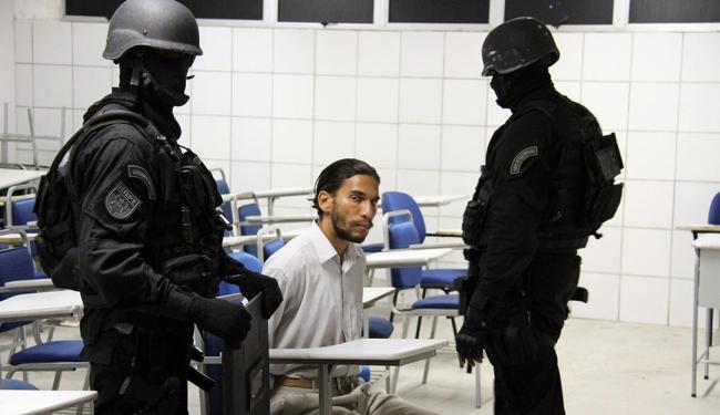 Frank Oliveira da Costa foi detido por homens do Bope - Foto: Alberto Maraux - Ascom SSP
