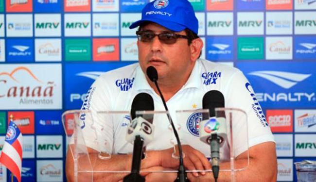 Guto está satisfeito com a parte defensiva, já com a ofensiva - Foto: EC Bahia   Divulgação