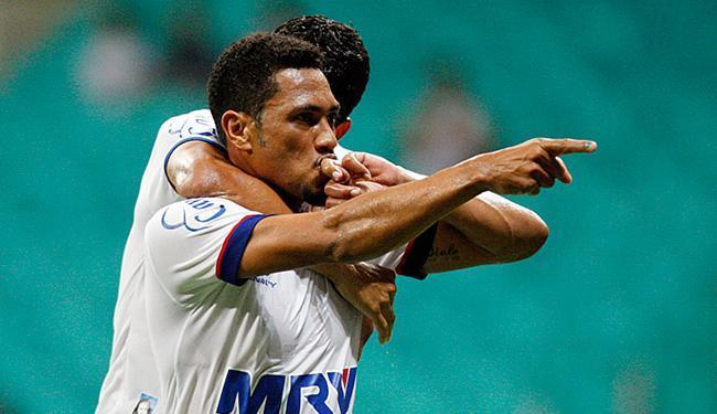 Com 15 gols marcados, o Brocador é o artilheiro do Tricolor na temporada - Foto: Raul Spinassé l Ag. A TARDE