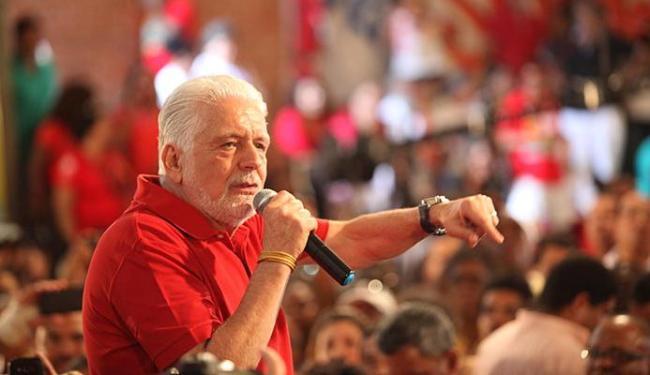 Ex-governador esteve na convenção conjunta do PT, PCdoB, PSB e PSD - Foto: Lúcio Távora | Ag. A TARDE