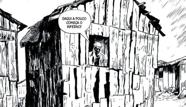 João Pinheiro desenhou na HQ Carolina - Foto: Reprodução