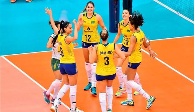 Jogadoras de vôlei - Foto: Divulgação   FIVB