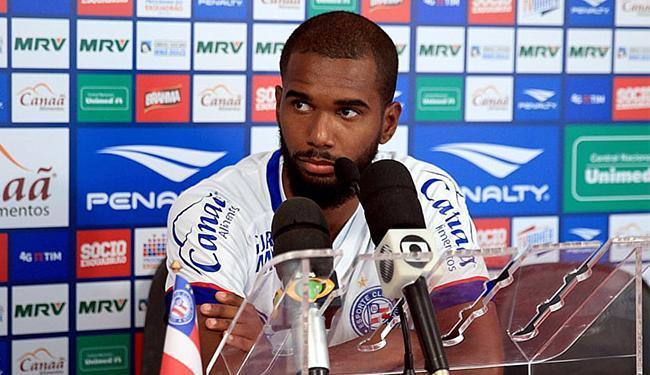 O jogador não estava recebendo oportunidades de atuar na Série A, pelo Sport - Foto: Felipe Oliveira l EC Bahia