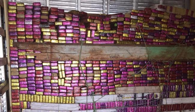 Droga foi encontrada no fundo falso de um caminhão - Foto: Polícia Federal   Divulgação