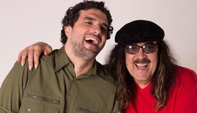 Pai e filho apresentam parcerias e cantam Batatinha - Foto: Divulgação