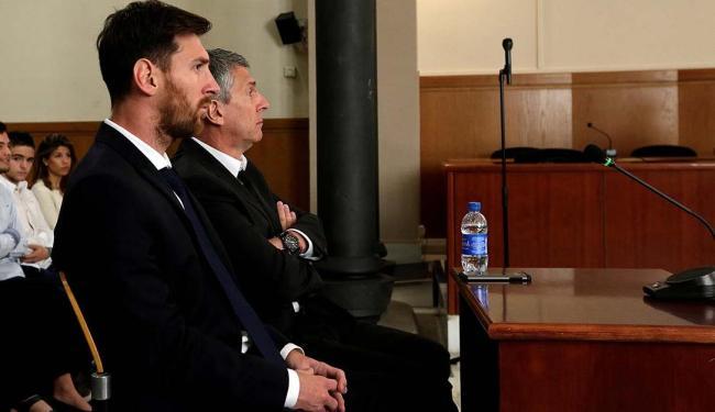 O Tribunal de Barcelona diz que Messi é responsável por uma fraude avaliada em 4,1 milhões de euros - Foto: Albert Gea   Agência Reuters