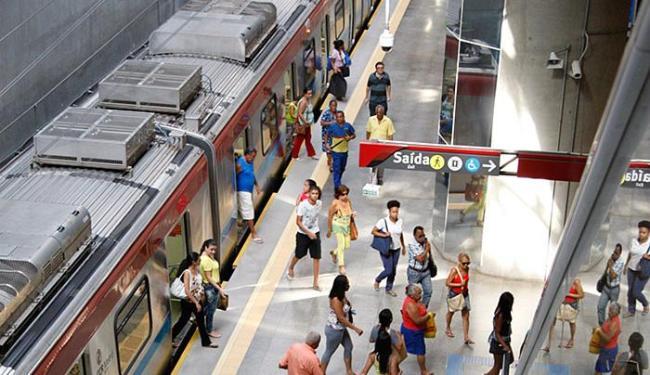 A integração ônibus-metrô começou em janeiro deste ano - Foto: Joá Souza   Ag. A TARDE