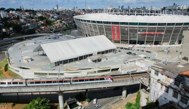 Mais trens estarão disponíveis para as 10 partidas de futebol na Arena Fonte Nova - Foto: Divulgação | GOVBA