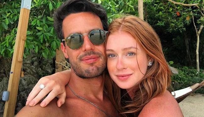Marina Ruy Barbosa com o namorado, Xandinho Negrão, na Tailândia - Foto: Reprodução / Instagram