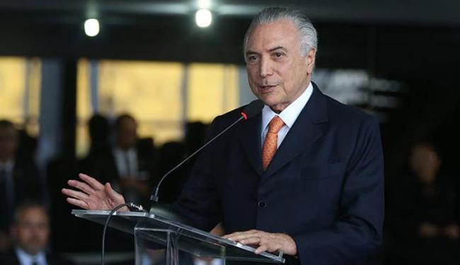 Propostas sancionadas pelo presidente interino foram aprovadas no fim do mês passado pelo Senado - Foto: Valter Campanato l Agência Brasil