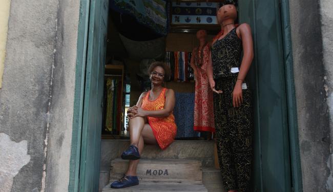 Goya Lopes foi uma das precursoras na produção de estamparia e roupas baseados na cultura afro - Foto: Lúcio Távora | Ag. A TARDE