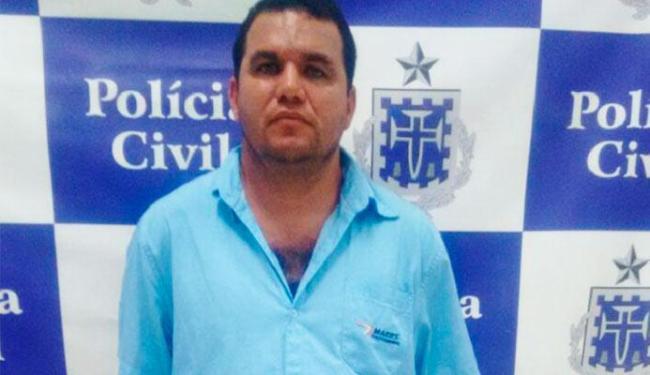 Toni foi autuado em flagrante por porte ilegal de arma. Ele não tinha passagem - Foto: Divulgação   Polícia Civil