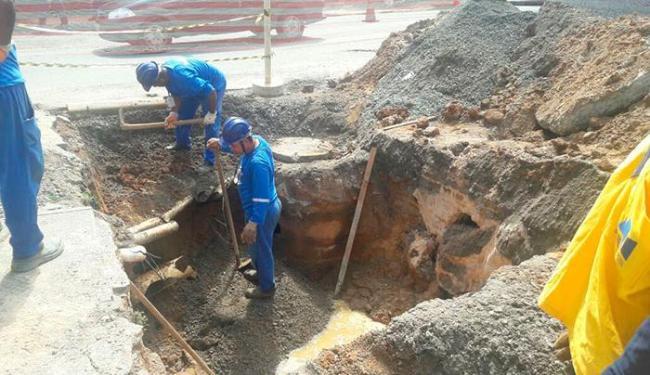 A Embasa foi notificada para comparecer à Sucom a fim de regularizar situação - Foto: Divulgação | Sucom